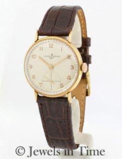 ユリスナルダン アンティーク イエローゴールド(18金)腕時計