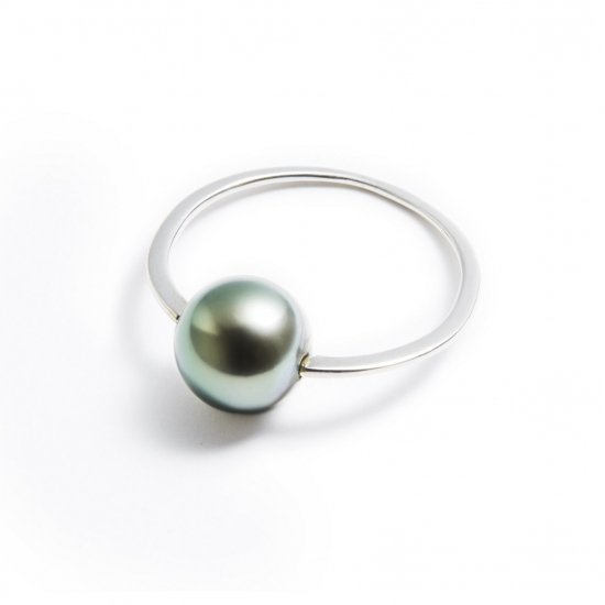 anorexia ring / pearl【green】