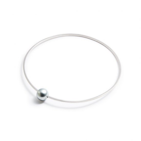 anorexia bracelet / small pearl 【silver】