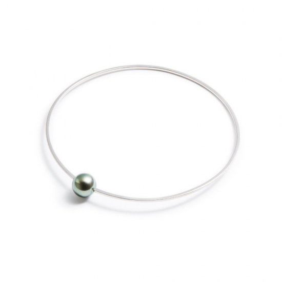 anorexia bracelet / small pearl 【green】