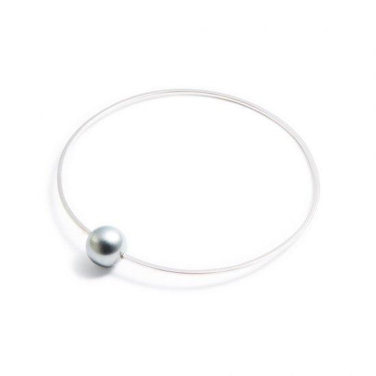 anorexia bracelet / medium pearl 【silver】