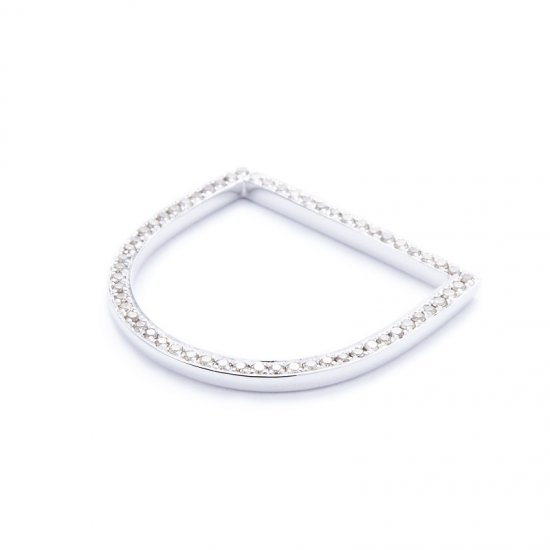 anorexia semicircle ring / oneside-browndiamond