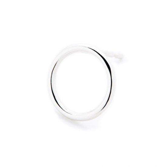 circle pierced earring / small