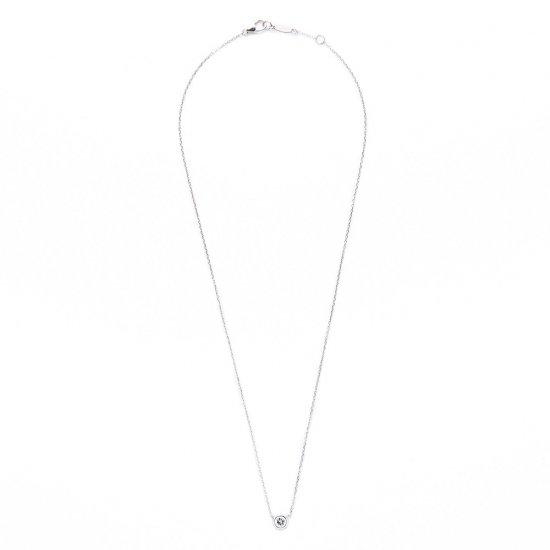 grain diamond / short necklace