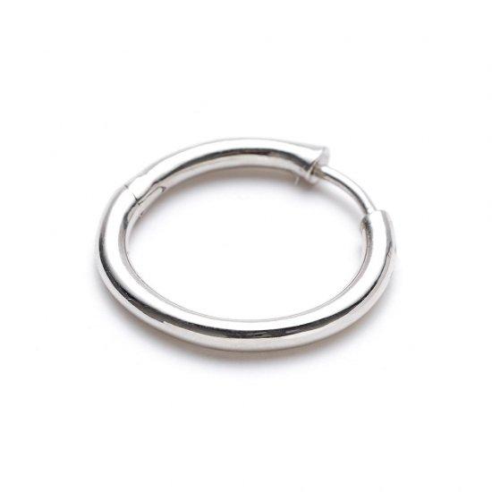custom pierced earring / medium