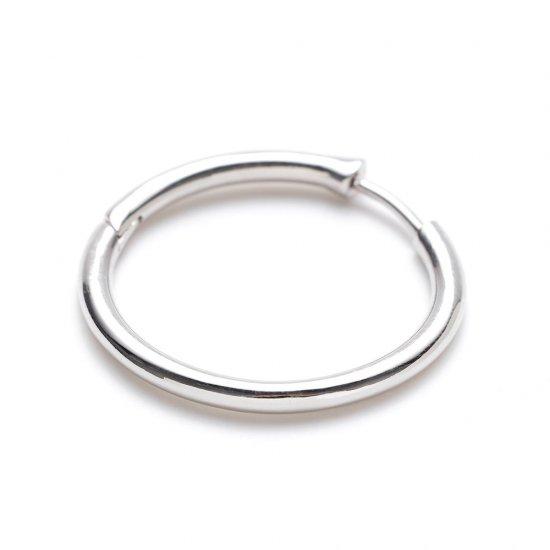 custom pierced earring / large