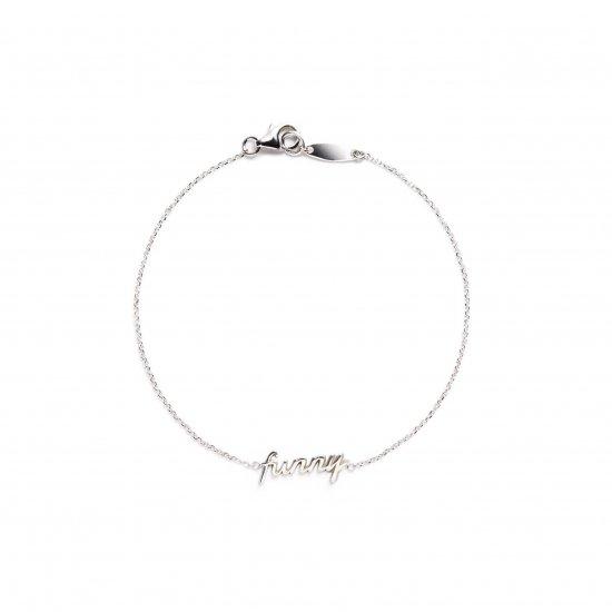 message bracelet / funny