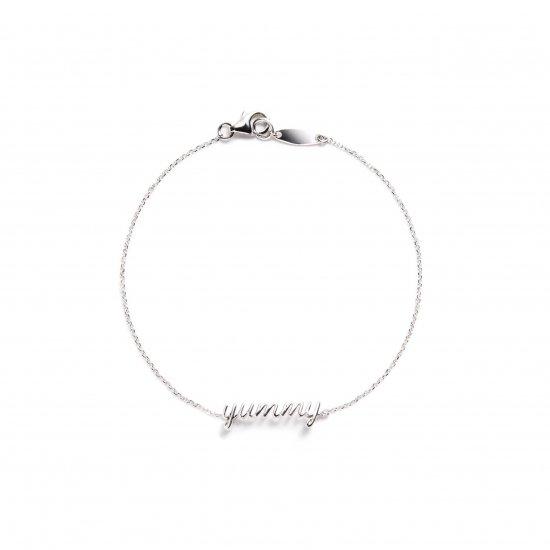 message bracelet / yummy