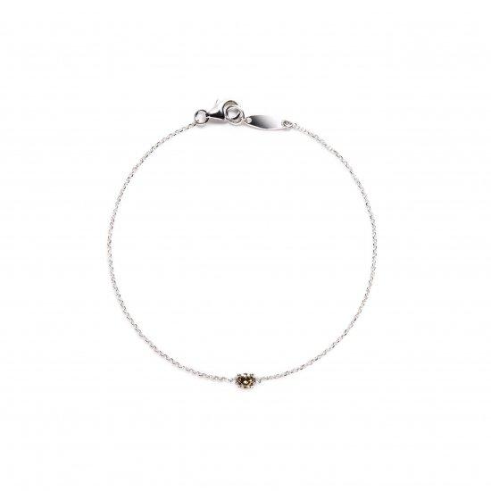 browndiamond bracelet / solitaire