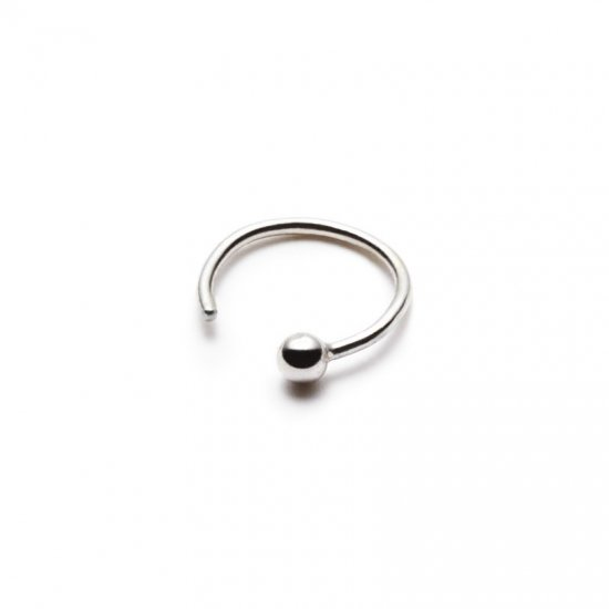 anorexia pierced earring / simple