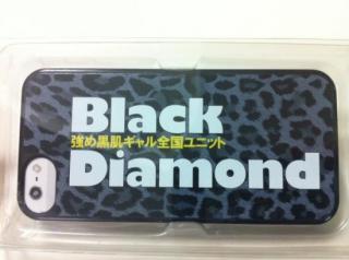 Black Diamond オリジナルiPhoneケース(5、5S用)