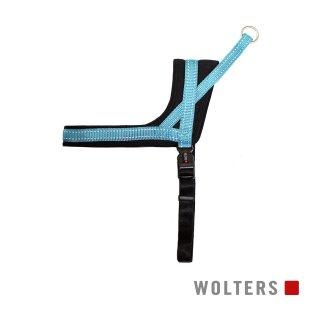 ハーネス ソフト&セーフ サイズ45〜55cm アクア