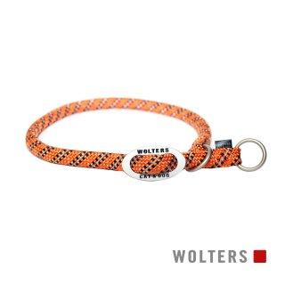 チョークカラー エベレスト 40cm × 9mm オレンジ/ブラック
