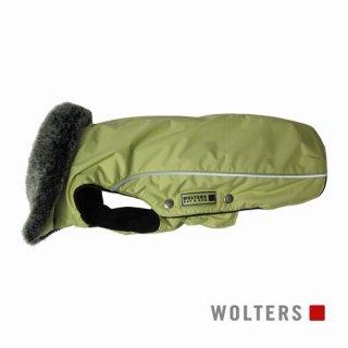 ウィンタージャケット アムンゼン 短頭種用 34cm ライムグリーン
