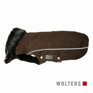 ウィンタージャケット アムンゼン 短頭種用 40cm マロン