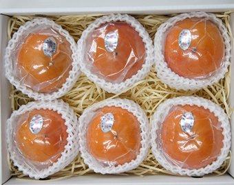 九度山の冷蔵富有柿:3L 6個入り 画像