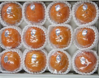 九度山の冷蔵富有柿:3L 12個入り 画像