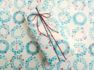 【WRAPPING PAPER】リース