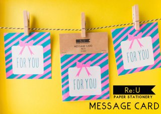 【MESSAGE CARD】FOR YOU(5枚セット)