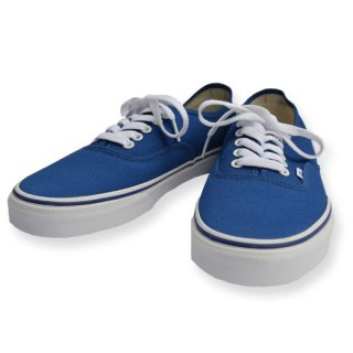 <img class='new_mark_img1' src='https://img.shop-pro.jp/img/new/icons20.gif' style='border:none;display:inline;margin:0px;padding:0px;width:auto;' />【SALE 20%OFF】VANS 「AUTHENTIC」 スニーカー ■BLUE