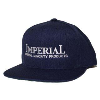 IMPERIAL 「LOGO BB CAP」  スナップバックキャップ ■NVY
