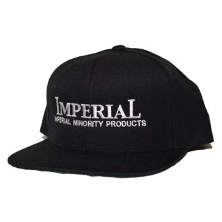 IMPERIAL 「LOGO BB CAP」  スナップバックキャップ ■BLK