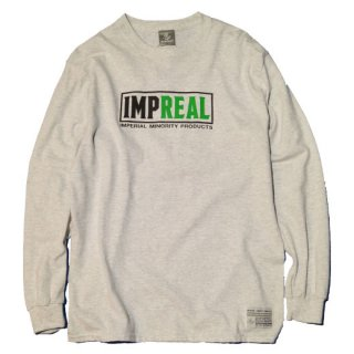 <img class='new_mark_img1' src='https://img.shop-pro.jp/img/new/icons20.gif' style='border:none;display:inline;margin:0px;padding:0px;width:auto;' />【SALE 20%OFF】IMPERIAL 「IMP-REAL L/S」 ロングスリーTTシャツ ■GRY