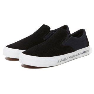 RADIALL 「BASS FOOT - SLIP ON SNEAKER」■BLK