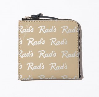 <img class='new_mark_img1' src='https://img.shop-pro.jp/img/new/icons41.gif' style='border:none;display:inline;margin:0px;padding:0px;width:auto;' />RADIALL   RAD'S - ZIP SQUARE WALLET  BEIGE