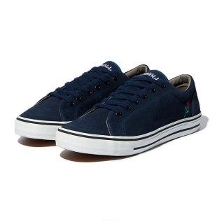 RADIALL × POSSESSED SHOE.CO CONQUISTA - LOW TOP SNEAKER NVY