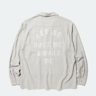 <img class='new_mark_img1' src='https://img.shop-pro.jp/img/new/icons41.gif' style='border:none;display:inline;margin:0px;padding:0px;width:auto;' />RADIALL REGAL-REGULAR COLLARED SHIRT L/S GRAY
