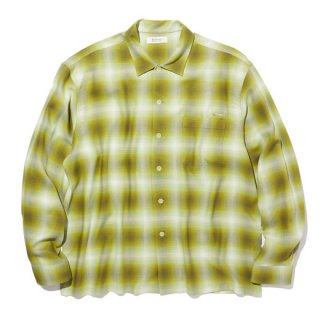 <img class='new_mark_img1' src='https://img.shop-pro.jp/img/new/icons41.gif' style='border:none;display:inline;margin:0px;padding:0px;width:auto;' />RADIALL  FAME - OPEN COLLARED SHIRT L/S GRN