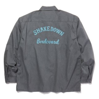 <img class='new_mark_img1' src='https://img.shop-pro.jp/img/new/icons41.gif' style='border:none;display:inline;margin:0px;padding:0px;width:auto;' />RADIALL LOWELL - REGULAR COLLARED SHIRT L/S GRAY