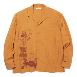 <img class='new_mark_img1' src='https://img.shop-pro.jp/img/new/icons41.gif' style='border:none;display:inline;margin:0px;padding:0px;width:auto;' />RADIALL HYDRAULIC - OPEN COLLARED SHIRT L/S ORG