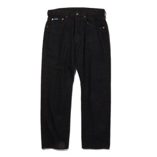 RADIALL   TWO TONE 350B - STRAIGHT FIT PANTS BLK