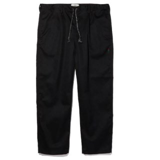 RADIALL × POSSESSED SHOE.CO CONQUISTA - WIDE FIT EASY PANTS BLK