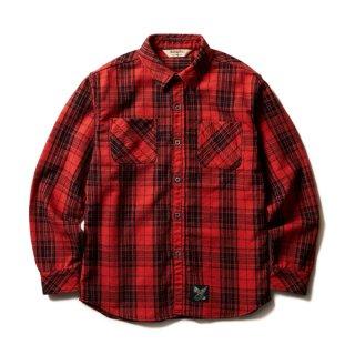 SOFTMACHINE VALIANT SHIRTS (FLANNEL SHIRTS) RED