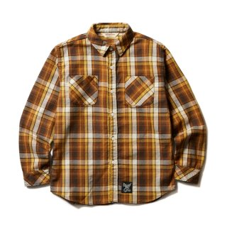 SOFTMACHINE VALIANT SHIRTS (FLANNEL SHIRTS) YEL