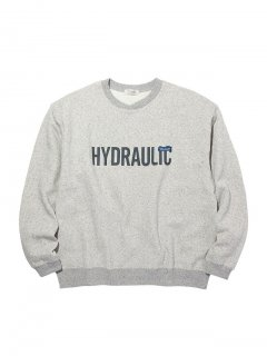 RADIALL HYDRAULIC - CREW NECK SWEATSHIRT L/S GRY