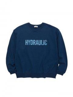 RADIALL HYDRAULIC - CREW NECK SWEATSHIRT L/S NVY