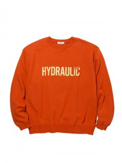 RADIALL HYDRAULIC - CREW NECK SWEATSHIRT L/S ORG