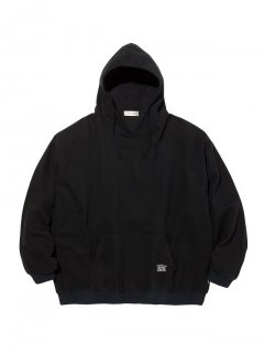RADIALL SYNDICATE - PULLOVER HOODED SHIRT L/S BLK