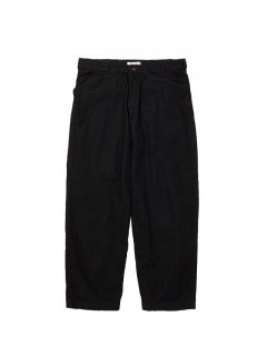 RADIALL   MOON STOMP - WIDE FIT WORK PANTS BLK