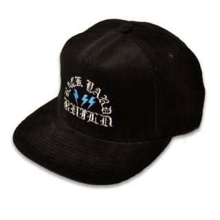 HARDEE CORDUROY CAP BLK