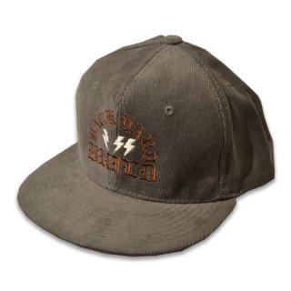 HARDEE CORDUROY CAP GRY