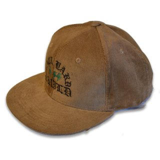 HARDEE CORDUROY CAP CAMEL