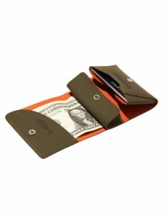 RADIALL   PACHUCO - FOLDED WALLET  OLV