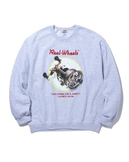 <img class='new_mark_img1' src='https://img.shop-pro.jp/img/new/icons14.gif' style='border:none;display:inline;margin:0px;padding:0px;width:auto;' />RADIALL GAMBLING HOURS–CREW NECK SWEATSHIRT L/S (GRY)