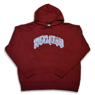 <img class='new_mark_img1' src='https://img.shop-pro.jp/img/new/icons14.gif' style='border:none;display:inline;margin:0px;padding:0px;width:auto;' />HARDEE PULL OVER HOODIE BURGUNDY