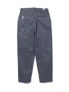 RADIALL   CONQUISTA - SLIM TAPERED FIT PANTS GRY
